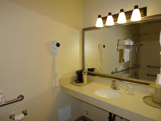 Quality Inn at Zion Park: Ванная