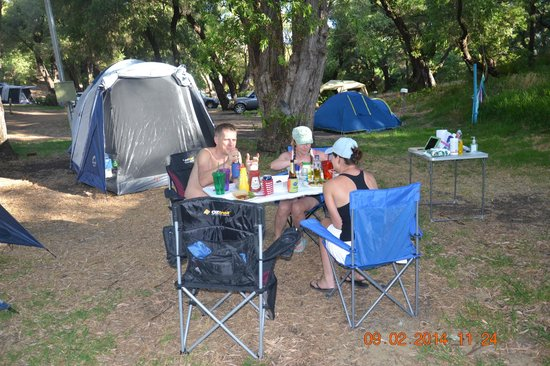 Prevelly Caravan Park: Camping