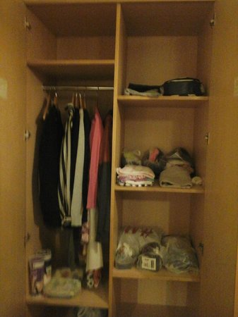 Ambassador Hotel: closet
