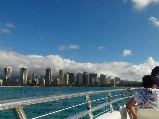 Waikiki Beach : ワイキキビーチ