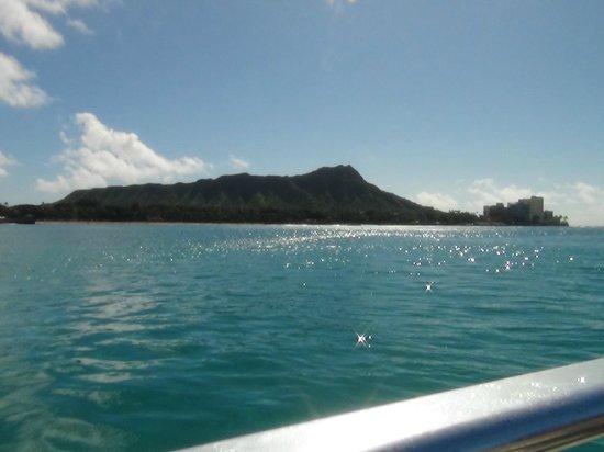 Waikiki Beach : ダイヤモンドヘッド