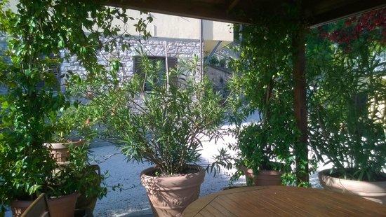 La Terrazza del Subasio: Veranda per colazione e riposo