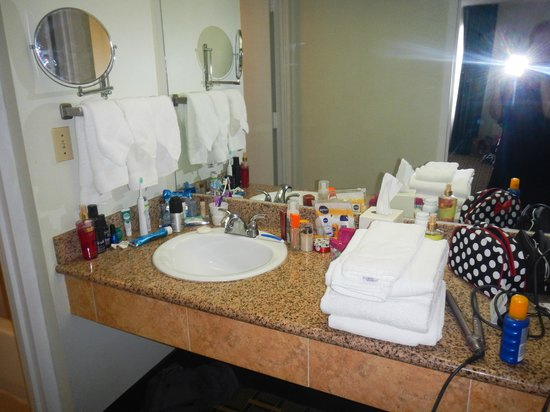 Four Points by Sheraton Orlando Convention Center: vanity area