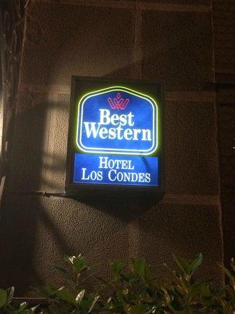 Best Western Hotel Los Condes: ingresso