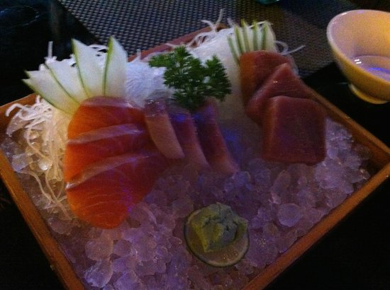 Bluefin Japanese Fusion and Lounge : fresh sashimi. melts in your mouth quality.