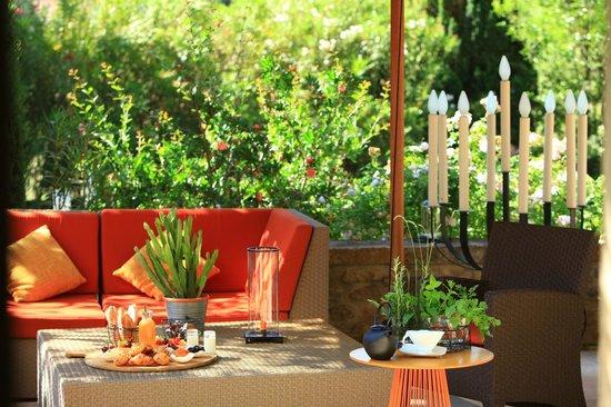 terrasses mas de l 39 amarine picture of mas de l 39 amarine saint remy de provence tripadvisor. Black Bedroom Furniture Sets. Home Design Ideas