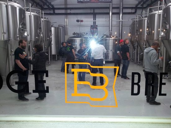 Edge Brewing, Barcelona: Brewhouse