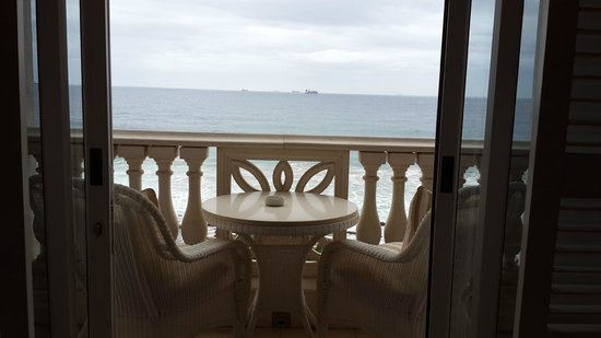 The Oyster Box: balcony