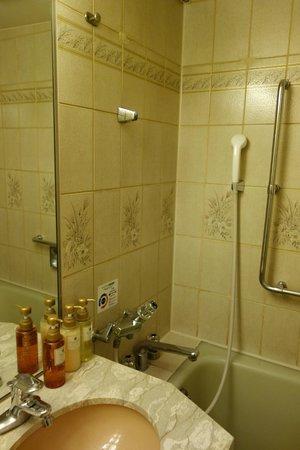 Dormy Inn Shinsaibashi : Bathroom