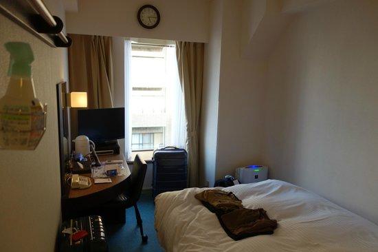 Dormy Inn Shinsaibashi : view from the room entrance