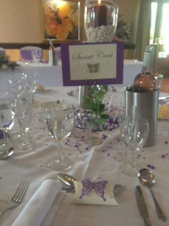 Breadsall Priory Marriott Hotel & Country Club: Top table