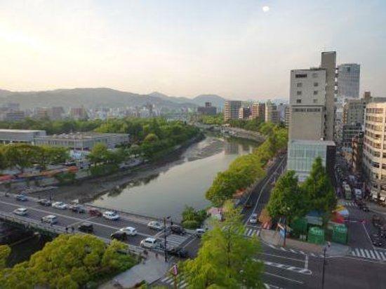 Hotel Sunroute Hiroshima : 部屋からの景色