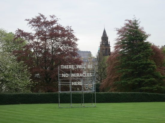 Scottish National Gallery of Modern Art Two (Dean Gallery): Great Art Piece on Front of Lawn