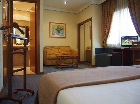 Hotel Ciudad de Compostela: HABITACIÓN TWIN