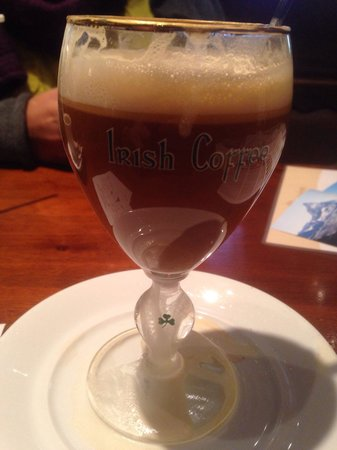 Walliserkanne: Irish coffee
