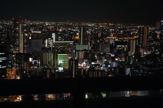 Kuchu Teien Observatory : Osaka at night