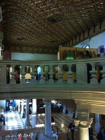 Gallerie dell'Accademia: blick zur eingangshalle
