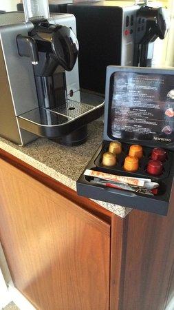Hotel Okura Amsterdam : Nespresso Coffee