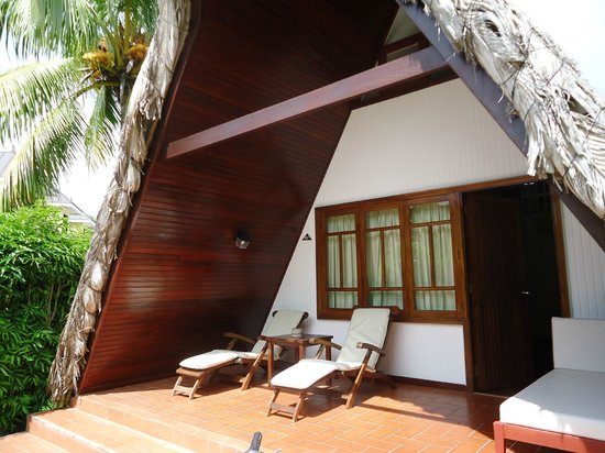 La Digue Island Lodge : our little guest house