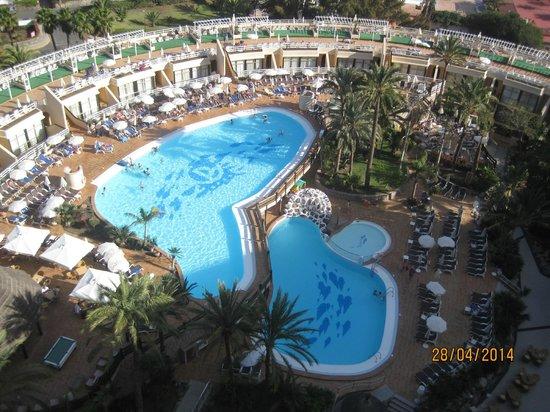 Gloria Palace San Agustín Thalasso & Hotel: vue magnifique