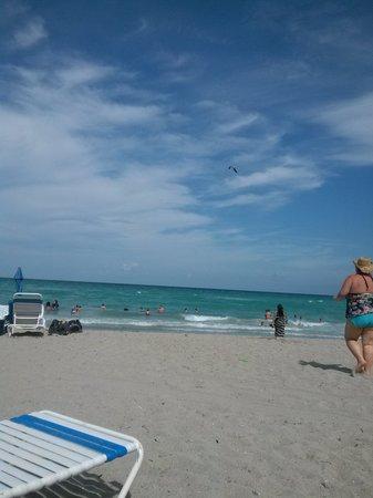 Hollywood Beach Marriott: Beautiful beaches