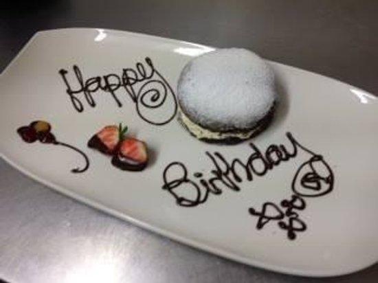 Herriots Hotel: A birthday dessert