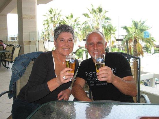 La Blanche Resort & Spa : GEZELLIG TERRAS