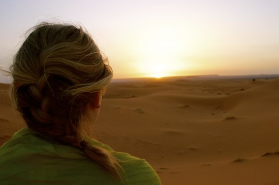 Morocco Excursions: Enjoying an African sunrise