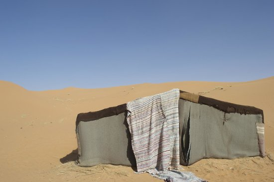 Morocco Excursions: One of the traditional Berber huts