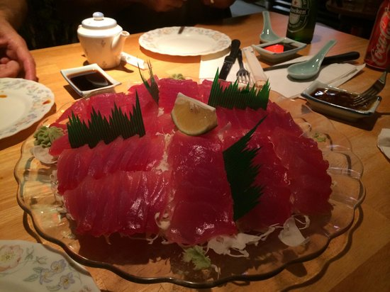 Sook's Sushi: The sashimi was superb, & fresh