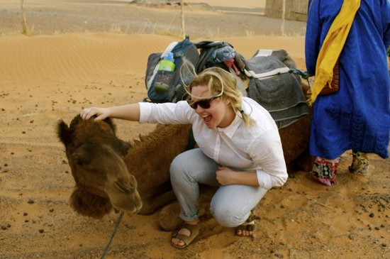Morocco Excursions: Bonding with Carl the camel