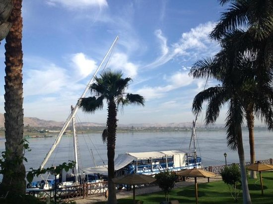 Mercure Luxor Karnak: View of Nile from the garden