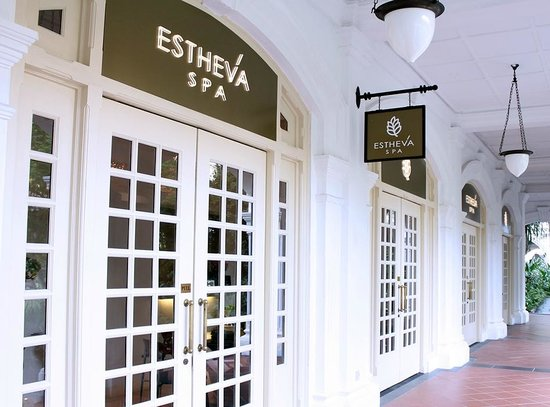 Estheva Spa: A luxury day spa by The Lawn at Raffles Hotel with its charming historical architecture.