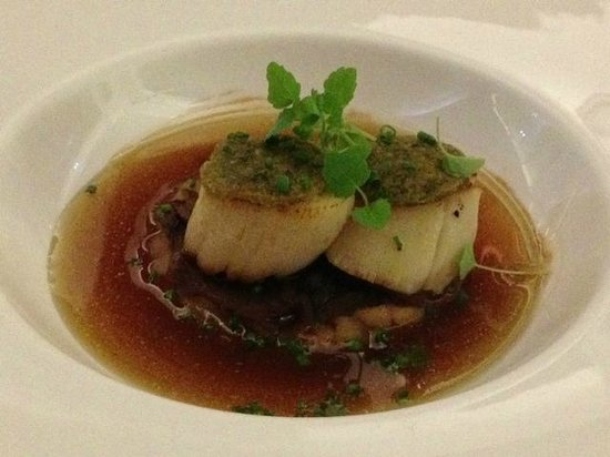 Restaurant Le Serac: Delicious scallops