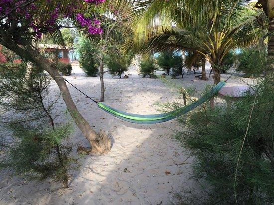 Campement Nanaay : hamac du campement