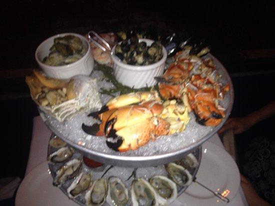 AQUAGRILL: Seafood plateau royale
