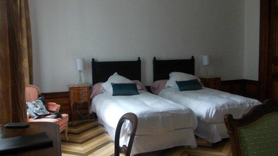 Chambres d'hôtes Manoir de la Manantie : Schlafbereich