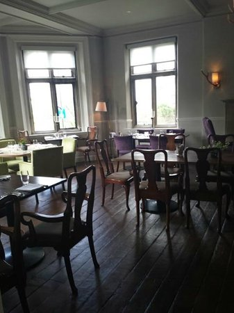 The Old Bell Hotel: Dining room