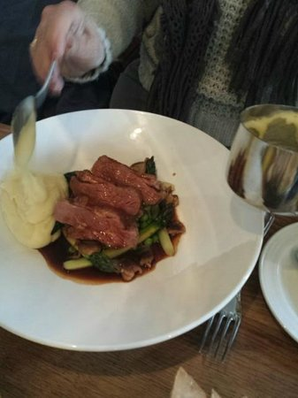 The Old Bell Hotel: Lamb rump