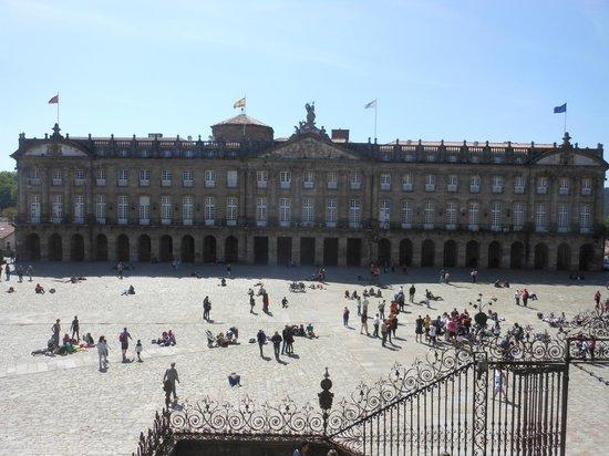 Plaza del Obradoiro: Piazza e palazzo Comunale