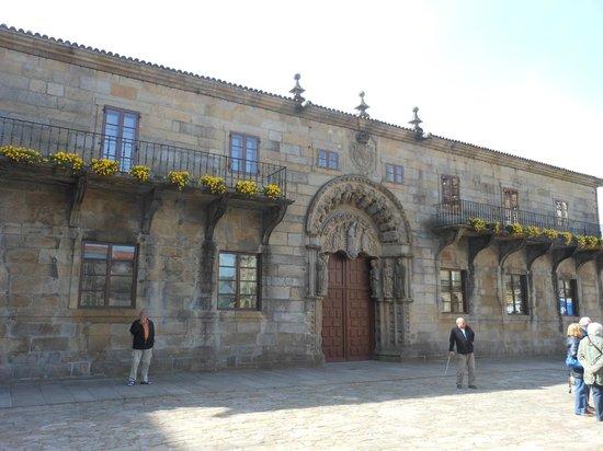 Plaza del Obradoiro: Collegio di San Girolamo