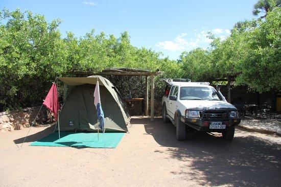 Palmwag Lodge: campsite
