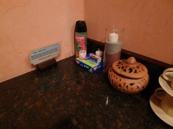 Sandalwood Luxury Villas: anything u nd to repel mosquitoes