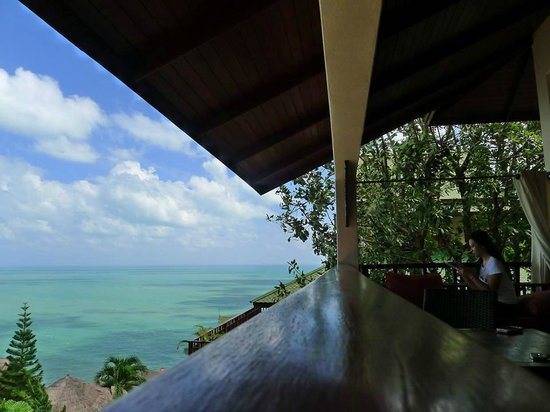 Sandalwood Luxury Villas : Our room's balcony which is cool for chilling