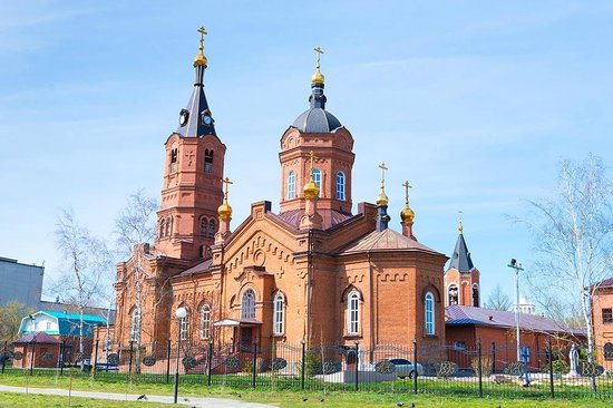 Kurgan, รัสเซีย: Cathedral of St. Alexander Nevsky