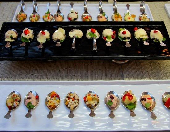 SENSIMAR Grand Mediterraneo Resort & Spa by Atlantica: Muse bouche