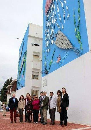 Ruta de Murales Artísticos: Mural by prisoners