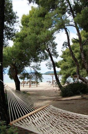 Club Med Gregolimano: Une des plages