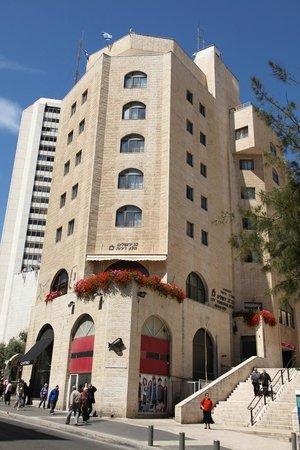 Lev Yerushalayim: Hotel Outdoors