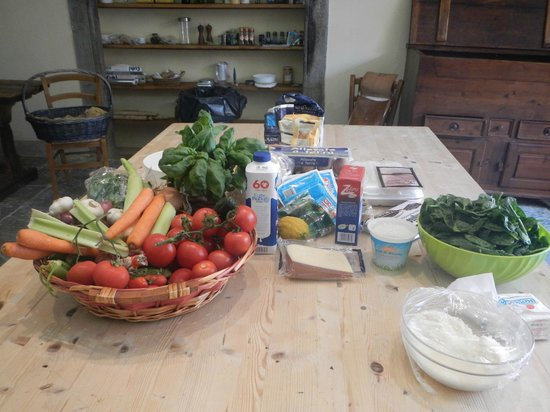 Good Tastes of Tuscany - Day Classes: Fresh ingredients for the day